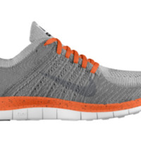 Nike Free 4.0 Flyknit iD Custom Men's Running Shoes - Orange