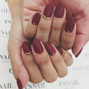 Imgs For > Matte Nails Tumblr
