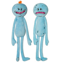 Two Plush  Happy & Sad Meeseeks Stuffed Doll Plush Toy