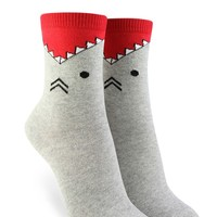 Shark Graphic Crew Socks