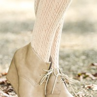 Night Rider Booties-Taupe