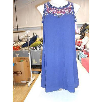 Xhilaration Xhiwomen's Dress, Moonlight Blue, X-Small