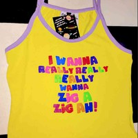 SWEET LORD O'MIGHTY! ZIG A ZIG AH CROP TANK