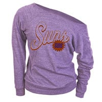 Phoenix Suns - Logo Off-Shoulder Juniors Long Sleeve T-Shirt