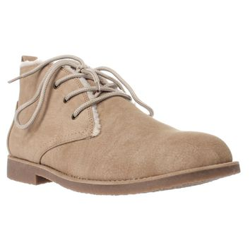 Seven Dials Mallori Winter Ankle Booties, Natural, 8 US