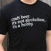 """Craft Beer Is My Hobby"" T-Shirt, men's"