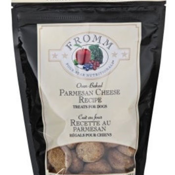 FROMM DOG TREATS - PAREMSAN CHEESE TREATS 8OZ -  - FROMM PET FOODS - UPC: 72705121007 - DEPT: FROMM PET FOOD