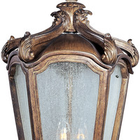 Bastille VX 3-Light Outdoor Hanging Lantern 40228 Mediterranean
