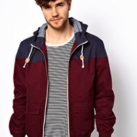 Brave Soul Jacket With Hood at asos.com