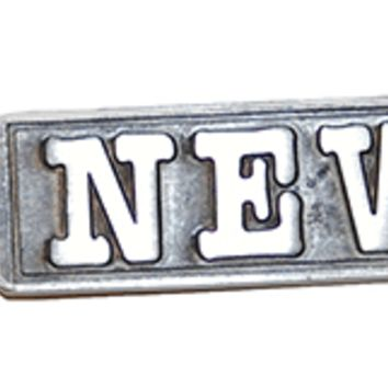 Newsies Musical Logo Keychain