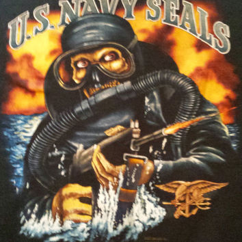 Vintage 1989 U.S. Navy Seals t-shirt