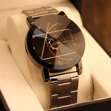 Splendid Original Brand  Wrist Watch Full Steel Men's Watch Women's Watches