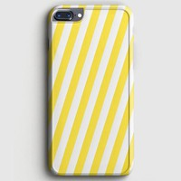 Yellow Stripe iPhone 8 Plus Case