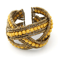 Bohemian Boho Cuff Bracelet for Women Men Jewelry Fashion Resin Beads Charm Bracelets & Bangles