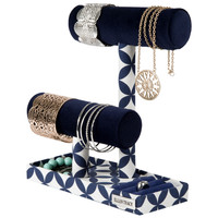 Ellen Tracy Double Bar Jewelry Stand