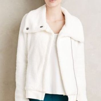 Pure + Good Snowfall Sherpa Jacket in White Size: