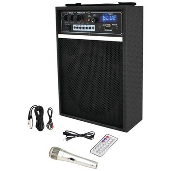 "Pyle Pro 300-watt Bluetooth 6.5"" Portable Pa Speaker System PYLPWMAB250BK"