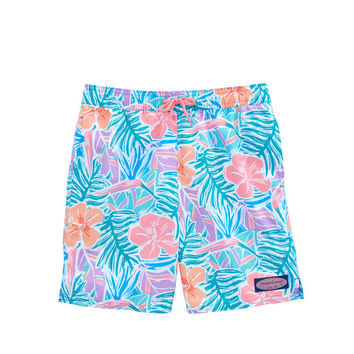 Boys Gulf Tropical Chappy Trunks
