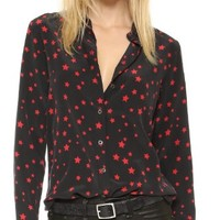 Kate Moss Slim Signature Clean Blouse