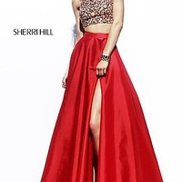 Floor Length Two Piece Dress by Sherri Hill
