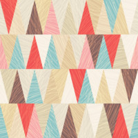 Removable Wallpaper - Modern Triangles