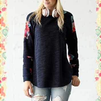 Arms Full of Blooms Top