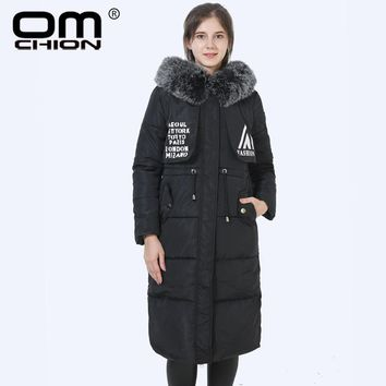 New High Quality Winter Jacket Women Thick Long Parka Warm Faux Fur Hooded Coat Windproof Outwear Abrigos Mujer