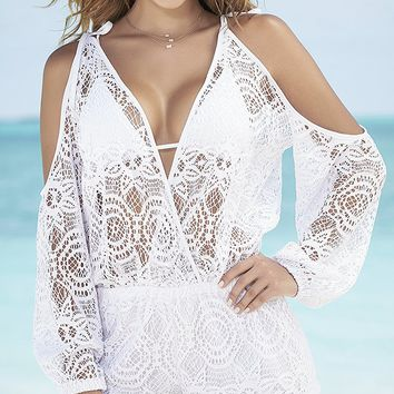 Crochet Cutie Cover-Up Romper
