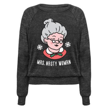 MRS. NASTY WOMAN (WHITE) PULLOVERS