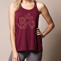 Heavenly Om Flowy Racerback
