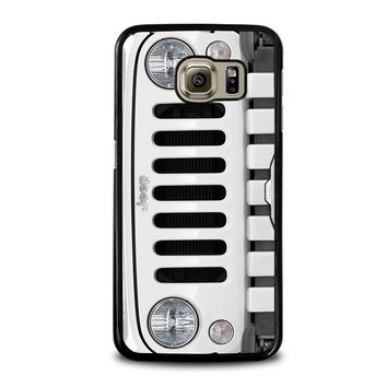 JEEP SILVER Samsung Galaxy S6 Case Cover