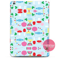 Cute Flower Fruit Cupcake Pastel iPad Case 2, 3, 4, Air, Mini Cover