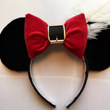 Disney Captain Hook Mickey Ears