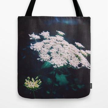 Anne's Lace Tote Bag by DuckyB (Brandi)