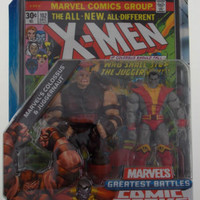 Marvel Universe Colossus Juggernaut Greatest Battles X-Men Comic Packs Hasbro