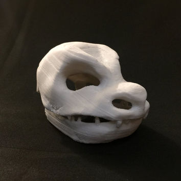 Blastoise Skull Pokemon 3D Printed Model