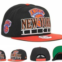 New York Knicks Cap Snapback Hat - Ready Stock