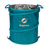 Miami Dolphins NFL Collapsible Trash Can Cooler