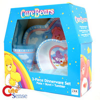 Care Bears 3Pc Kids Dining Dinnerware Set at Cutesense.com