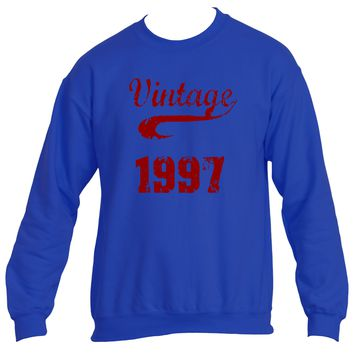 Vintage 1997 | Heavy Blend™ Fleece Sweatshirt | Underground Statements`