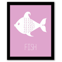 Fish Wall Art, Nursery Wall Art, Lilac, Kids Room, Girls Room, Kids Wall Art, Girls Nursery, Playroom Decor, Printable Art, INSTANT DOWNLOAD