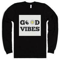 Good Vibes-Unisex Black T-Shirt