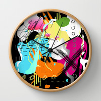 ~~ Narf! :^) Wall Clock by K_c_s
