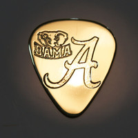 Alabama - Brass Guitar Pick