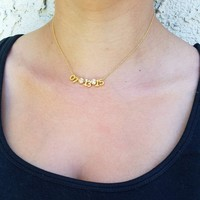 Numerical Date Necklace