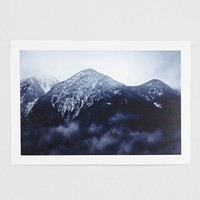 Troy Moth Mountain Art Print - Urban Outfitters