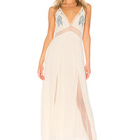 Cleobella Amman Slip Dress in Ivory | REVOLVE