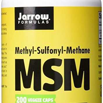 Jarrow Formulas MSM, Strengthens Joints, 1000 mg, 200 Caps