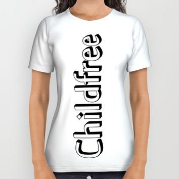 Childfree All Over Print Shirt by Taoteching / C4Dart