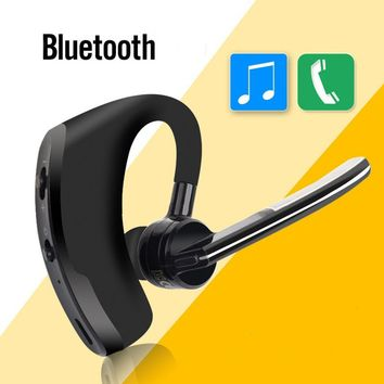 Business noise cancelling Bluetooth headset wireless headphone earbud Bluetooth  phone earphone handfree